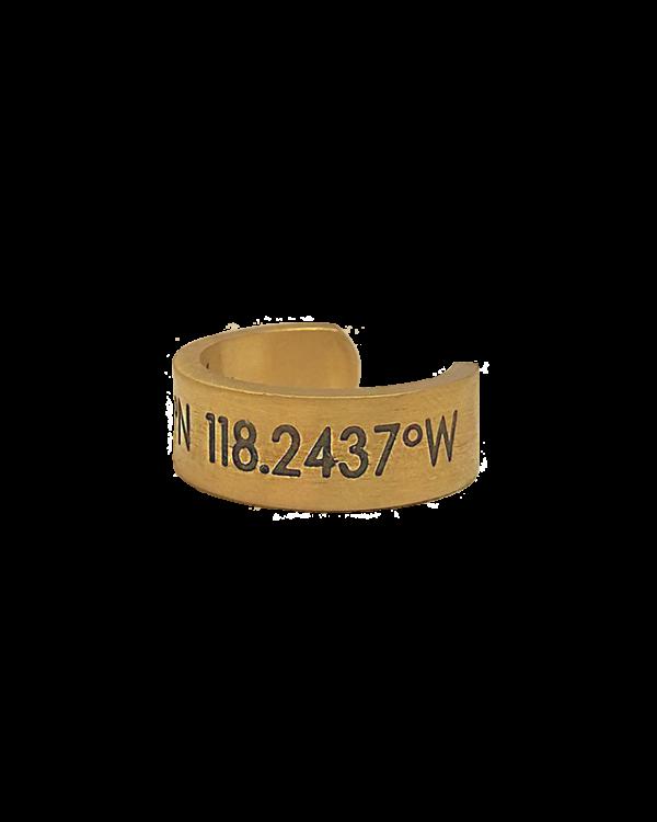 טבעת גולדן קורדינייט תמונת צד