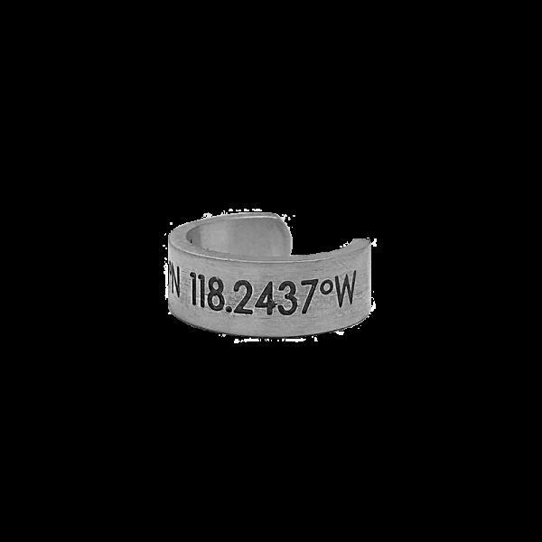 טבעת סילבר קורדינייט תמונת צד