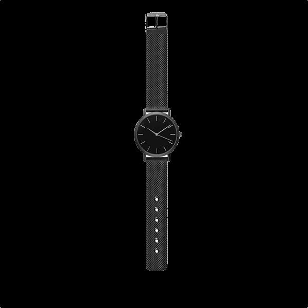 שעון זינו שחור תמונה רחוקה