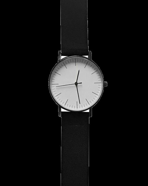 שעון קליר לבן