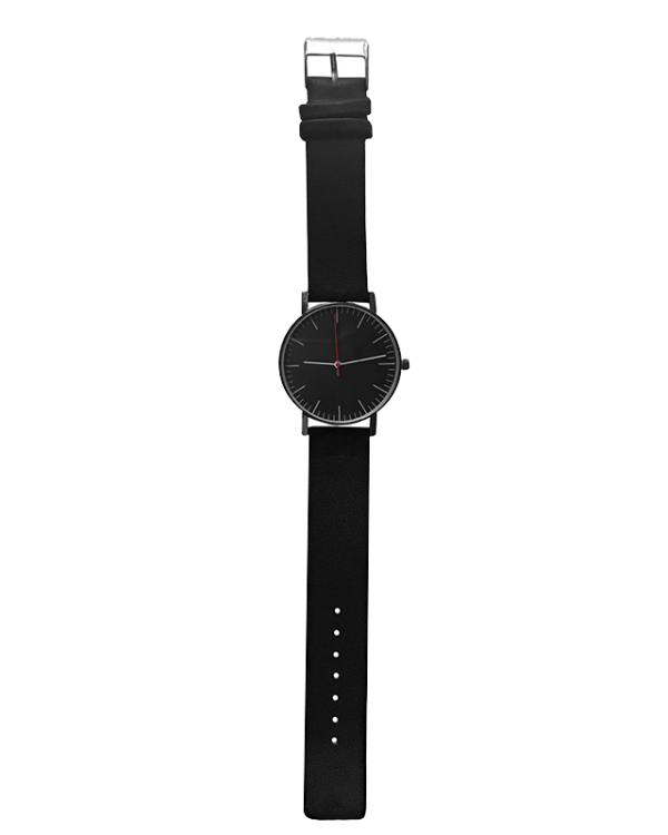 שעון קליר שחור תמונה רחוקה
