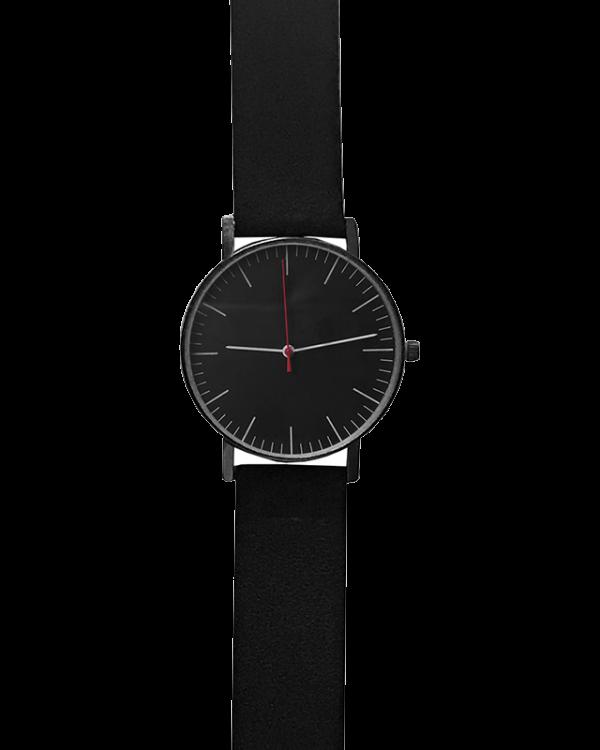 שעון קליר שחור