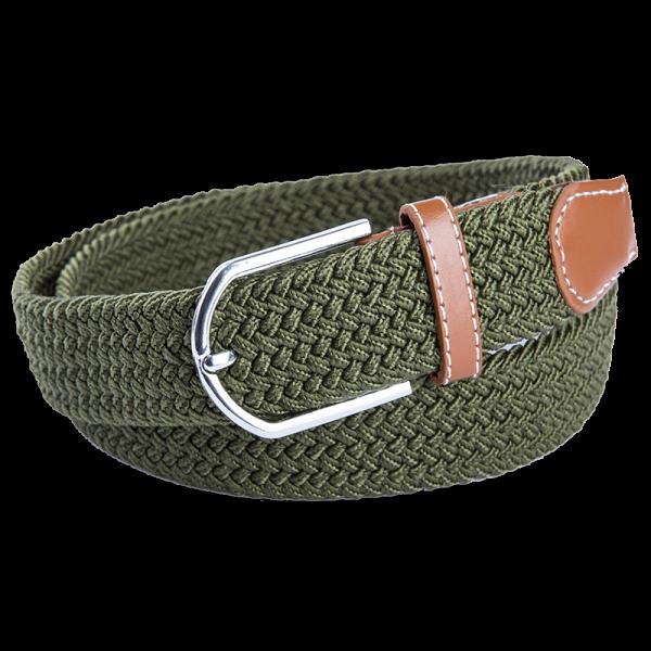 חגורת ברונו ירוק זית