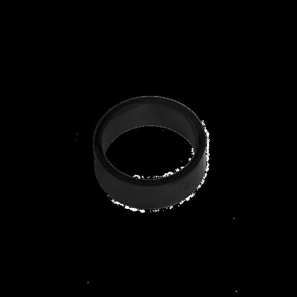 טבעת בייסיק בלאק תמונת צד
