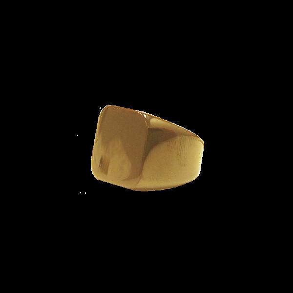 טבעת חותם זהב צד