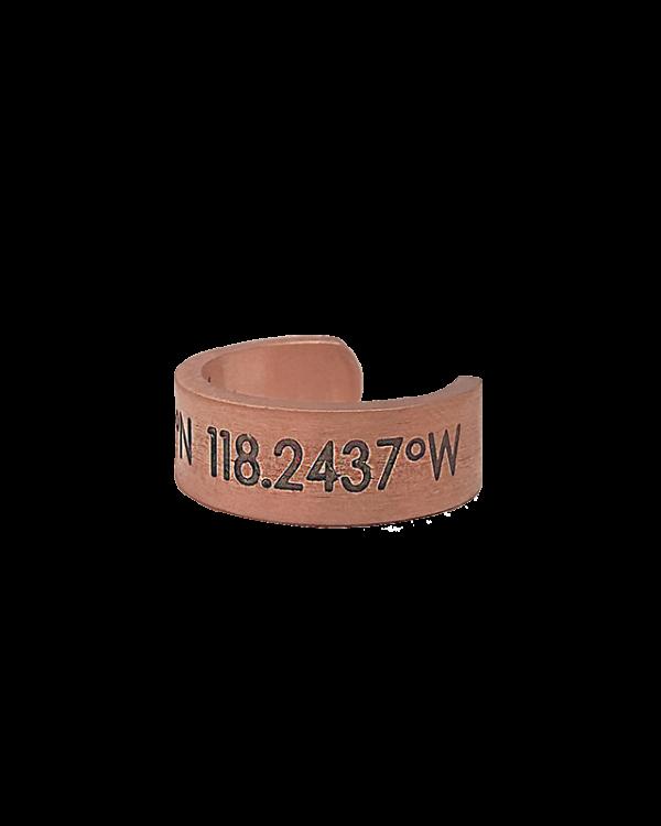 טבעת קורדינייט ברונזה צד