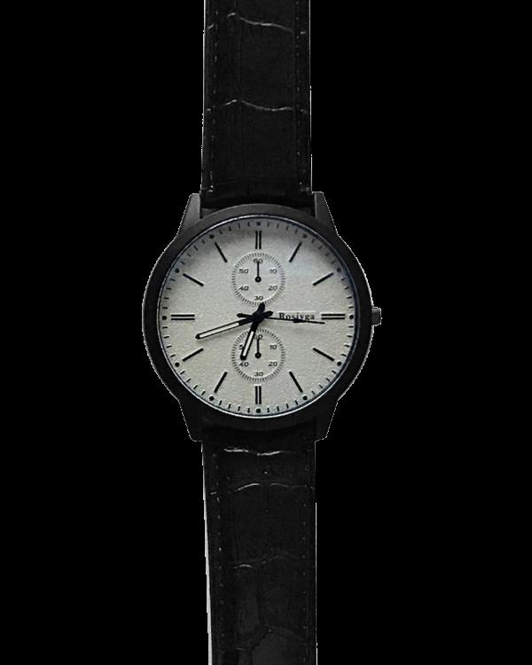 שעון ווגה לבן תקריב
